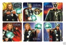 12 The Avenger Thor Stickers Kid Reward Party Goody Loot Bag Filler Favor Supply