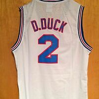 Daffy Duck #2 Space Jam Tune Squad Basketball Jersey S M L XL XXL