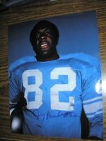 Autographed 8 x 10 Detroit Lions Jerry Rush- from JD McCarthey Negative