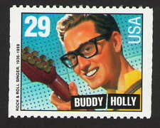 US. 2736. 29c. Buddy Holly (1936-59) Rock & Roll Singer. Booklet Single. 1993