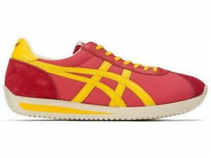 Asics Onitsuka Tiger MOAL 76 NM 1183A916 FIERY RED/TIGER YELLOW With Shoe Bag