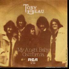 disco 45 GIRI Toby BEAU MY ANGEL BABY - CALIFORNIA