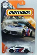 Matchbox Lamborghini Gallardo White Police Car 2020