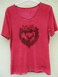 T-Shirt von Almgwand rot Gr. M NEU