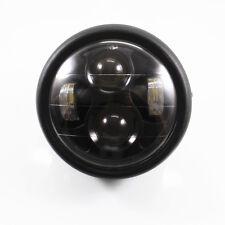 "Motrocycle High Low Beam LED 6 1/2"" HeadLight For Honda Rebel 250 Shadow 750"