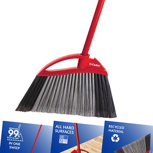 O-Cedar Power Corner Large Angle Broom 1 Pack