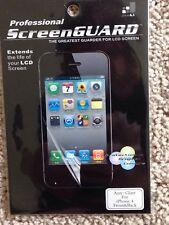 Professional Screen Guard For iPhone 4 Front & Back / Anti Glare,Original Colour