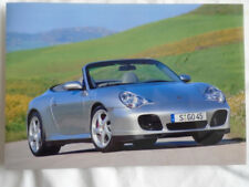 Porsche 911 Carrera 4S Cabriolet press photo c2003 German text