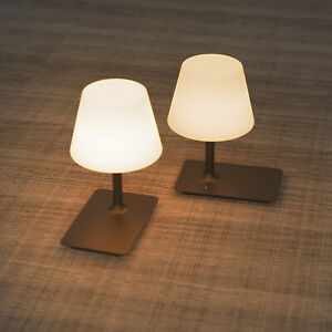 2X LED Desk Lamp Bedside Table Night Light 1.2W Light USB Charge Dimmable  IP44