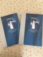 Collection of 2002 Australian Post Year Book Album with Stamps - Deluxe Edition