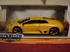 Jada Lamborghini Murcielago Lp640 2013 release Nib yellow exterior