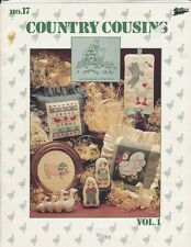 Graph Menagerie COUNTRY COUSINS Gingerbread Folk Art Collection No. 17 Vol. 1