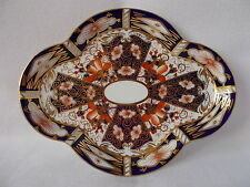 UNUSUAL LOBE SHAPED ROYAL CROWN DERBY 2451 IMARI PATTERN MINI TEASET TRAY? 1931
