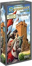 ENGLISH  The Tower CARCASSONNE expansion NEW EDITION brand new & sealed ENGLISH