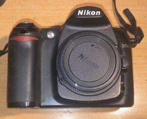 Nikon D50 Digital SLR Camera + Charger & Battery