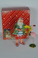 DEPT 56 POSSIBLE DREAMS CLOTHTIQUE  Dreaming of a Pink Christmas Santa Beach