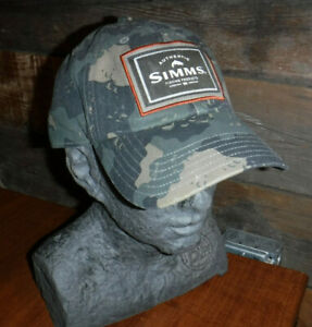 AUTHENTIC SIMMS FISHING PRODUCTS SNAPBACK TRUCKER HAT CAP L@@K
