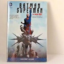 DC Comics Batman Superman The New 52 Volmue #1 Brand New Sealed in Cellophane