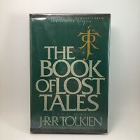 Book Lost Tales Part 1 JRR Tolkien Middle Earth BCE Hardback Club Edition 1984