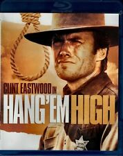 Blu Ray HANG EM HIGH. Clint Eastwood. Region free. New sealed.