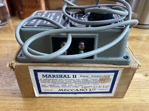 Hornby Dublo Meccano 1960s 'Marshall' transformer in box