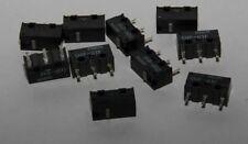10 Stück Microschalter Omron D2F-01F 1xUM