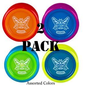 Duncan Butterfly XT Ball Bearing Yo-Yo (2 Pack Assorted Colors)