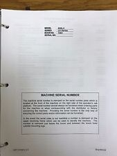 LINK BELT 800 LX CRAWLER EXCAVATOR SERVICE SHOP REPAIR WORKSHOP MANUAL