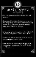 POSTER DEATH NOTE ELLE YAGAMI RYUK MISA LIGHT MELLO NEAR REM MANGA ANIME #19