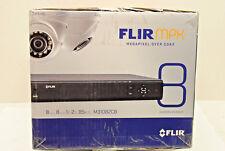 FLIR M31082C8 Megapixel Over Coax Security System 8 Weatherproof Cameras &1 DVR