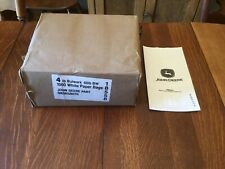 John Deere White Paper Bags Parts Lunch Package of 1000 New