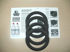 "Epicure Dual 8"" Woofer Refoam Repair Kit - E.P.I. M-Series M201, 201A, 202."