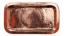 NEW IN PACKAGE Sertodo Copper Charolita Tray Platter Hammered Copper 12