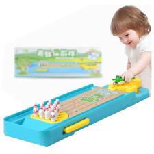 Children Mini Frog Bowling Desktop Interactive Games Educational Toys Launch Pad