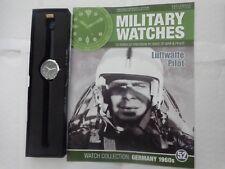 Eaglemoss Military Watches-Pilota della Luftwaffe germania anni 1960 Orologio EDIZIONE 52