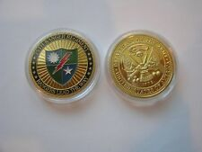 US Army 75th Ranger Regiment MILITARY CHALLENGE COIN Rangers Lead The Way