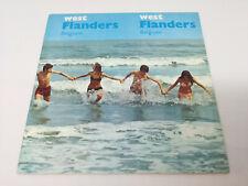 Vintage Belgium West Flanders Travel Brochure Guide 70s