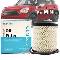 Oil Filter For BMW MINI R55 R56 R57 R58 R59 R60 R61 Cooper Clubman 11427622446