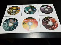 Microsoft Xbox Game Lot 6 Games-Loose Discs Only TESTED! FREE SHIPPING!