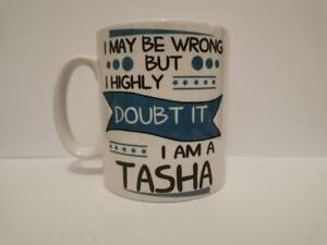 I MAY BE WRONG PERSONALISED NOVELTY MUG CUP TEA COFFEE GIFT FOR HER 401