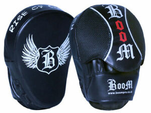 Focus Pads Boxing Hook & Jab Punch Mitts MMA Training Kick Curved Muay Thai
