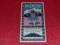 [BIBL H.& P.-J. OSWALD] BIBLIOTHEQUE BABEL JL BORGES MEYRINK Card NAPELLUS 1977