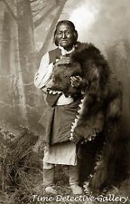 """Gorgonia"" Mescalero Apache Medicine Man - 1885 - Historic Photo Print"