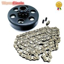 Race Go Kart Mini Pit Bike Clutch 3/4 Bore 12 Tooth Sprocket Cart W/ 35 Chain