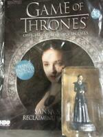 Game Of Thrones GOT Official Collectors Models #33 Sansa Stark Figurine EAGLEMOS