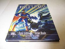 SUPERMAN BATMAN WORLD'S FINEST VOLUME COMPLETO GIBBONS RUDE ED.PLANETA OTTIMO!!