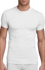 $65 CALVIN KLEIN Mens Micro Modal S/S CREW NECK T SHIRT White U5551 UNDERSHIRT S