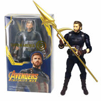 S.H.Figuarts Marvel Avengers Infinity War Captain America SHF Action Figures Toy