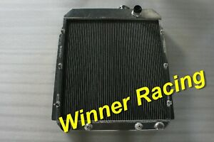 56MM ALUMINUM RADIATOR FIT BUICK CENTURY/ROADMASTER/SUPER/SPECIAL 1954-1956 ATM