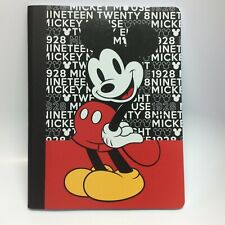 Disney Mickey Mouse 100 Wide Ruled Sheets Composition Notebook Journal